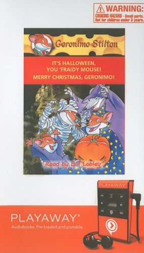 It's Halloween, You 'fraidy Mouse! / Merry Christmas, Geronimo!: Library Edition (Geronimo Stilton) -