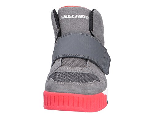 Mehrfarbig 93740l grey Enfant Baskets Mixte Adapters 001 char Skechers vwA7H