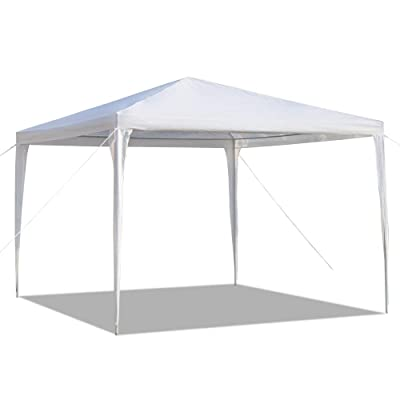 ZAILHWK Pop-Up Canopy Tent, 10x10 Gazebo Canopy Shade Tent Commercial Instant Canopies Waterproof Tent w/Adjustable Height, Wind Vent : Garden & Outdoor