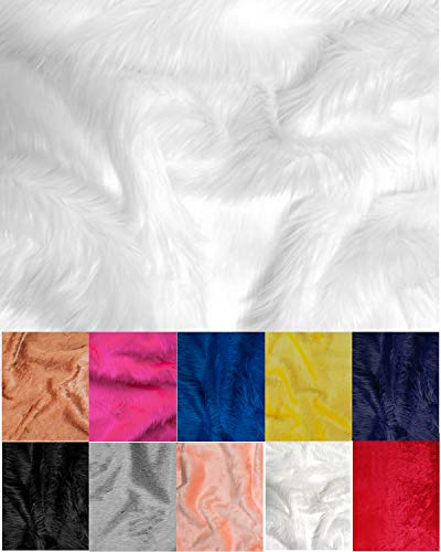 The Prop store Fur Rug for Photography for Baby Background (90x80cm)-White