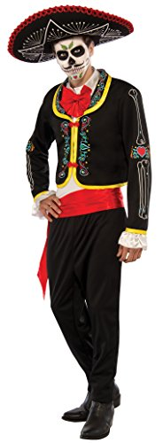 Rubie's Costume Co Day Of The Dead Senior Costume, (Day Of The Dead Senor Adult Costumes)