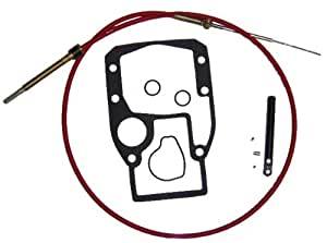 Shift Cable Kit for OMC Cobra Sterndrive replaces 987661 986654 987498