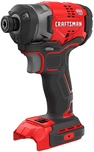 CRAFTSMAN CMCF820 V20 20-Volt Max Variable Speed Brushless Cordless Impact Driver Tool Only, Battery Not Included