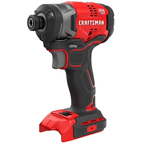 CRAFTSMAN CMCF820 V20 20-Volt Max Variable Speed Brushless Cordless Impact Driver (Tool Only, Battery Not Included)