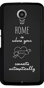 Funda para Motorola Nexus 6 - Citación - Casa by Asmo