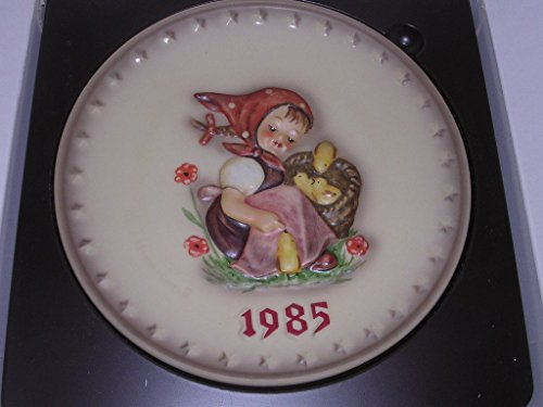 Hummel Goebel Bas Relief Annual Plate Girl Chicks 1985