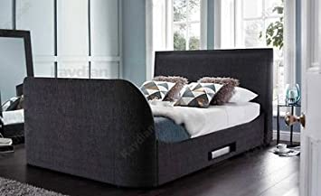 Embleton Superking Tv Bed By Kaydian Design Frame Only Amazon Co
