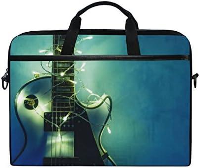 JSTEL Guitarra eléctrica con Guirnalda iluminada portátil ...