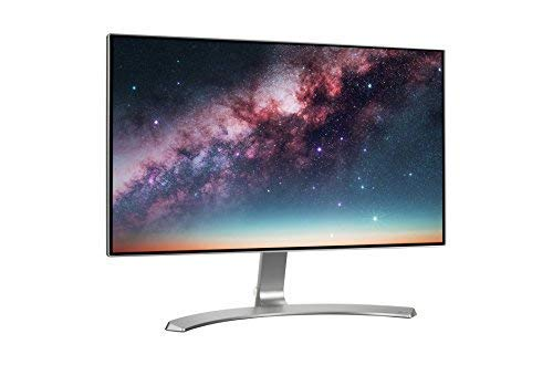 (Renewed) LG 23.8 inch Borderless LED Monitor – Full HD, IPS Panel with VGA, HDMI, Audio in/Out Ports and in-Built Speakers – 24MP88HV (Silver/White)