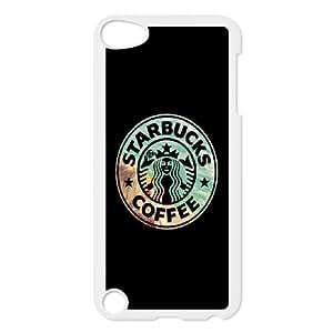 Starbucks Coffee Print iPod Touch 5 Case White ymax