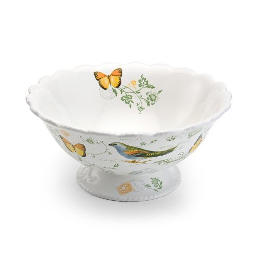 Mikasa Antique Countryside Pear Vegetable Bowl - Green