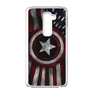Captain America's Shield Brand New And High Quality Hard Case Cover Protector For LG G2