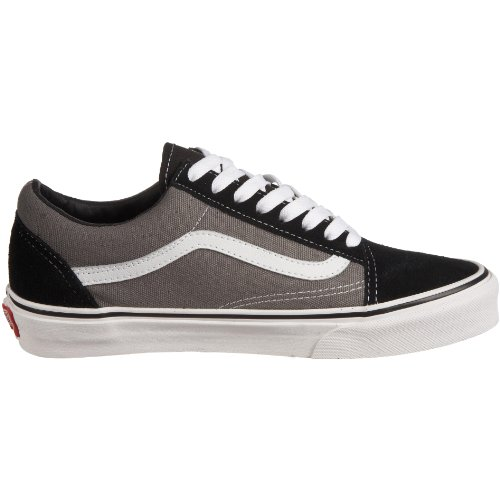Unisex U Black Negro Zapatillas Vans Old Skool Adulto Pewter BWagH