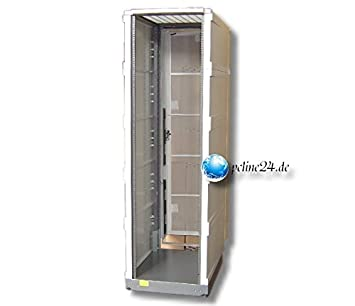 HP A4902A HP CABINET WITH BACK DOOR   AND SIDE PLASTIC!