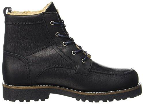 Boots Schwarz Flatheel Herren 70920036301109 O'Polo Bootie Black Lace Combat Marc HqUOxgww
