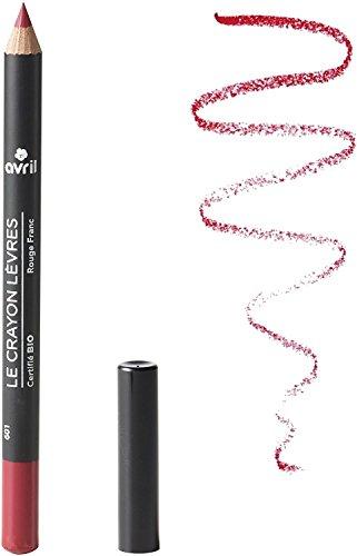 AVRIL - Bio Lip Pencil - Rouge Franc 585 - Precise Outline - Natural Tone - Long-lasting