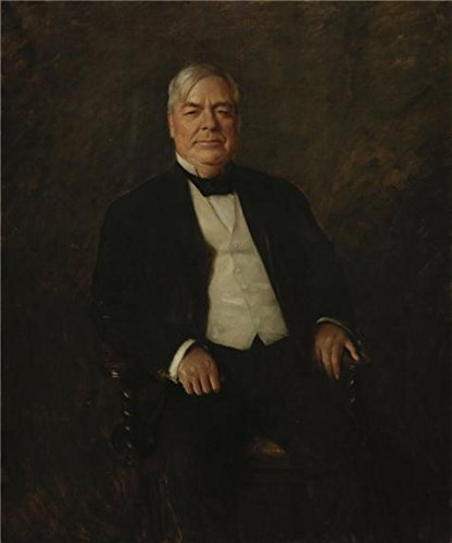 Oil Painting 'William Merritt Chase,William Rockhill Nelson,1907' Printing On Perfect Effect Canvas , 8x10 Inch / 20x24 Cm ,the Best Study Decoration And Home Artwork And Gifts Is This Cheap But High Quality Art Decorative Art Decorative Prints On Canvas