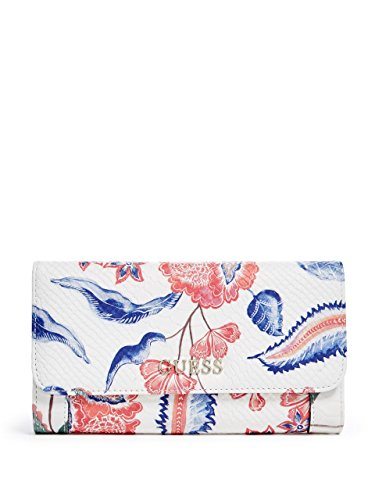 GUESS Delaney Floral Multi Clutch