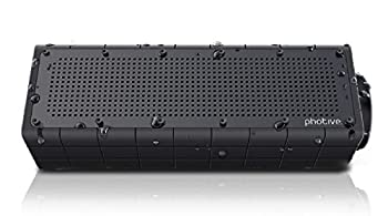 Photive Hydra Portable Bluetooth Speaker With Enhanced Bass. Waterproof Rugged Portable Speaker For Home, Travel & Outdoors 0