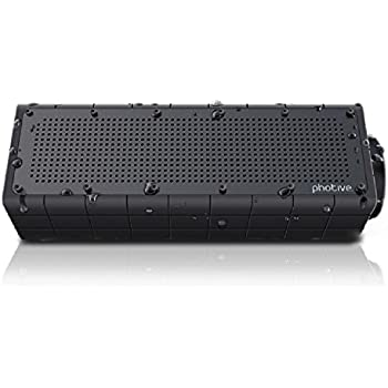 Amazon photive hydra portable bluetooth speaker with enhanced photive hydra portable bluetooth speaker with enhanced bass waterproof rugged portable speaker for home sciox Gallery
