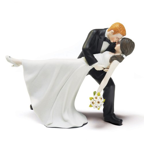 Weddingstar A Romantic Dip Dancing Bride and Groom Couple Figurine for Cakes -