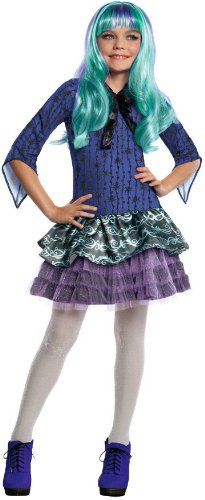Monster High Twyla Costume, Large (Best Haloween Costumes)