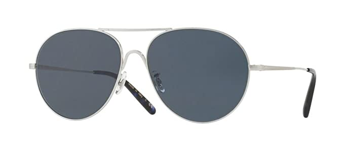 bea8e1888db Oliver Peoples - Rockmore 1218S - Sunglasses (BRUSHED SILVER