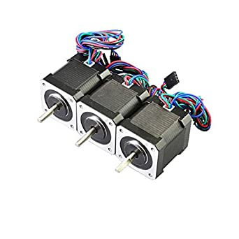 41d7wgInfPL._SX342_ amazon com 3pcs 59ncm nema 17 stepper motor 2a 4 wire 1m cable  at bayanpartner.co