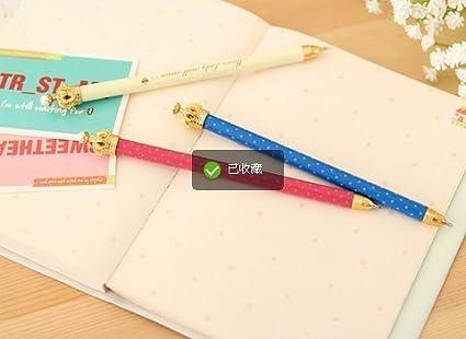 Toucan à bille Handmade Wood Carving créative stylo à bille mignon école stationnaire