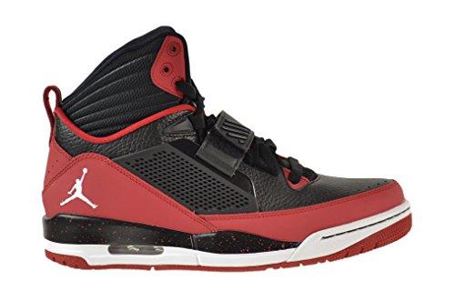 Jordan Flight 97 Men's Shoes Black/White-Gym Red-White 654265-002 (10.5 D(M) US)