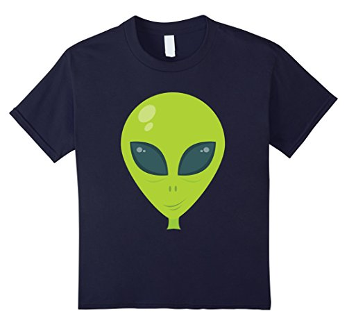 Kids Alien - Easy Halloween Costume - Halloween 2017 Shirt 12 Navy (2017 Halloween Costumes For Guys)