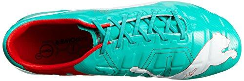 Puma evoPOWER 1 FG - Zapatos de fútbol de material sintético hombre Turchese(Türkis)