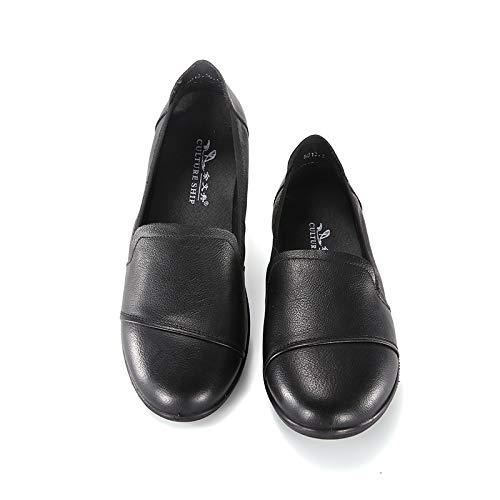 Travail Mocassins Professionnelle Black Bureau Conduite De Décontractées Basses Plates Chaussures Bateau XZPuOikT