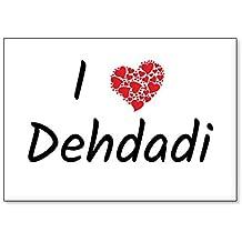 I Love Dehdadi, fridge magnet (design 3)