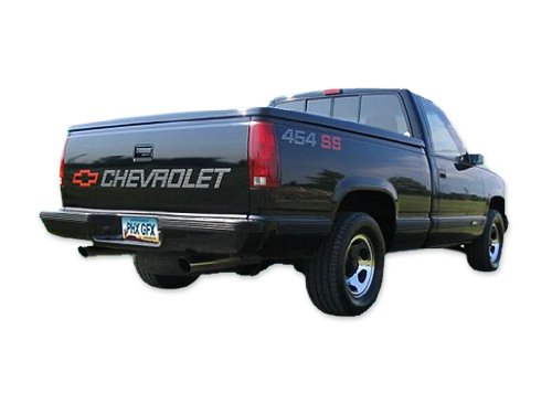 1990 1991 Chevrolet 1500 Truck 454 SS Decals & Stripes Kit - SILVER
