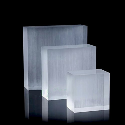 Display Block Platform Fine Exhibition Jewelry Art Store Gallery Trade Shows (Set of 5) (Glossy) by Svea Display (Image #6)