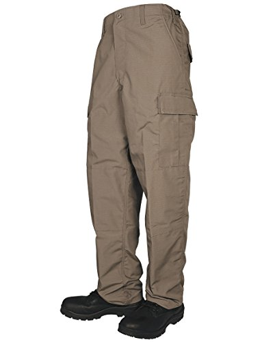 TRU-SPEC Men's Pants, TRU Basic W/ zip fly, Coyote, X-Large Regular