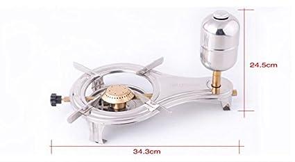GG Alcohol estufa al aire libre portátil estufa de gas la cabeza viento líquido Vaporized Alcohol