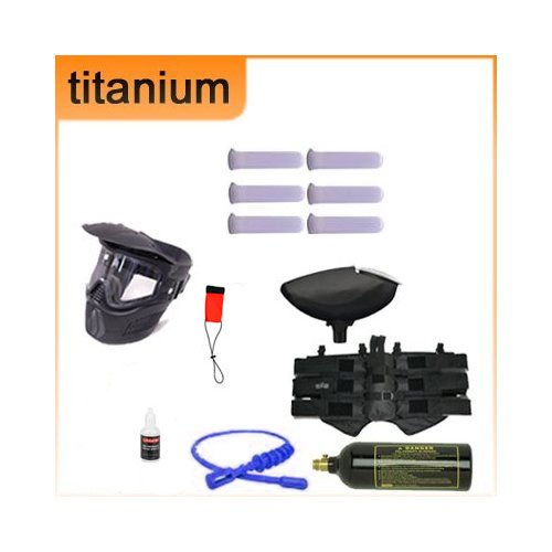 Zephyr Paintball Titanium Complete Starter Package