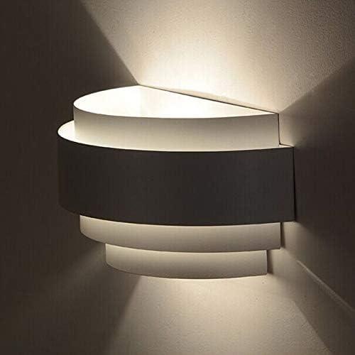 Luz de la pared LED Simple y elegante diseño minimalista moderna Pasillo Sala de estar Escalera dormitorio de la lámpara pared de la cabecera sin Fuente de luz: Amazon.es: Iluminación