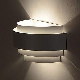 Lámpara de pared, Aplique Pared Led, Moderna minimalista Pasillo Sala de estar Escalera dormitorio de la lámpara pared de la cabecera y sin fuente de luz, para Dormitorio, Cocina, Restaurante, Cafete: Amazon.es: