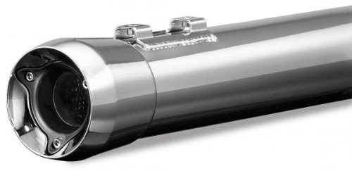 Kuryakyn 505 Crusher Mellow Muffler with Trident Tips