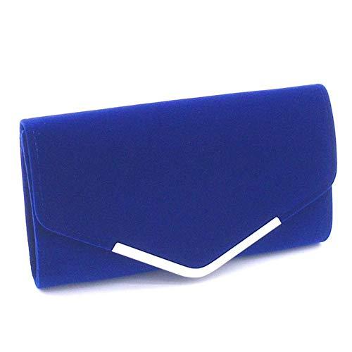 Pochette Femme MANYYSI pour Bleu Noir Taille Unique wzx8qZ
