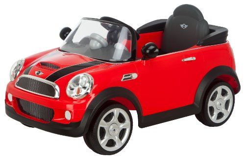 amazoncom kid trax mini cooper 6v electric car red toys games