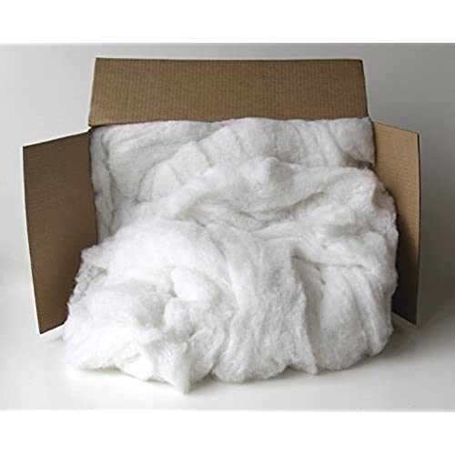 Sax Polyester Fiber Filling and Batting - 5 Pounds - White