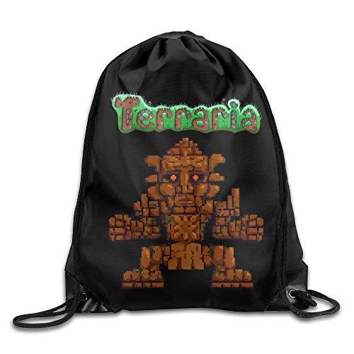 Sporting Kansas City Sport Backpack Drawstring Print Bag Terraria Video Game -