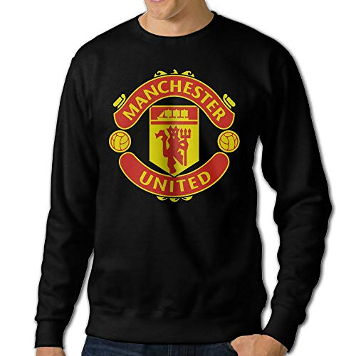 Manchester United Soccer Men Round Neck Long Sleeve Fashion Sweatshirts
