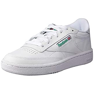 Reebok Herren Club C 85 Sneakers, Elfenbein (Int-white/green), 42 EU 9