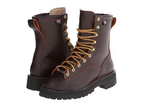 (ダナー)Danner メンズハイキングアウトドアブーツ靴 Rain Forest 8inches [並行輸入品] B07456W7S7 31.0 cm D M|ブラウン ブラウン 31.0 cm D M