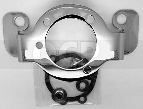 Harley Sportster XL 1988-2006 Chrome Air Cleaner Bracket for CV Carburetor (Chrome Air Cleaner Support Brackets)